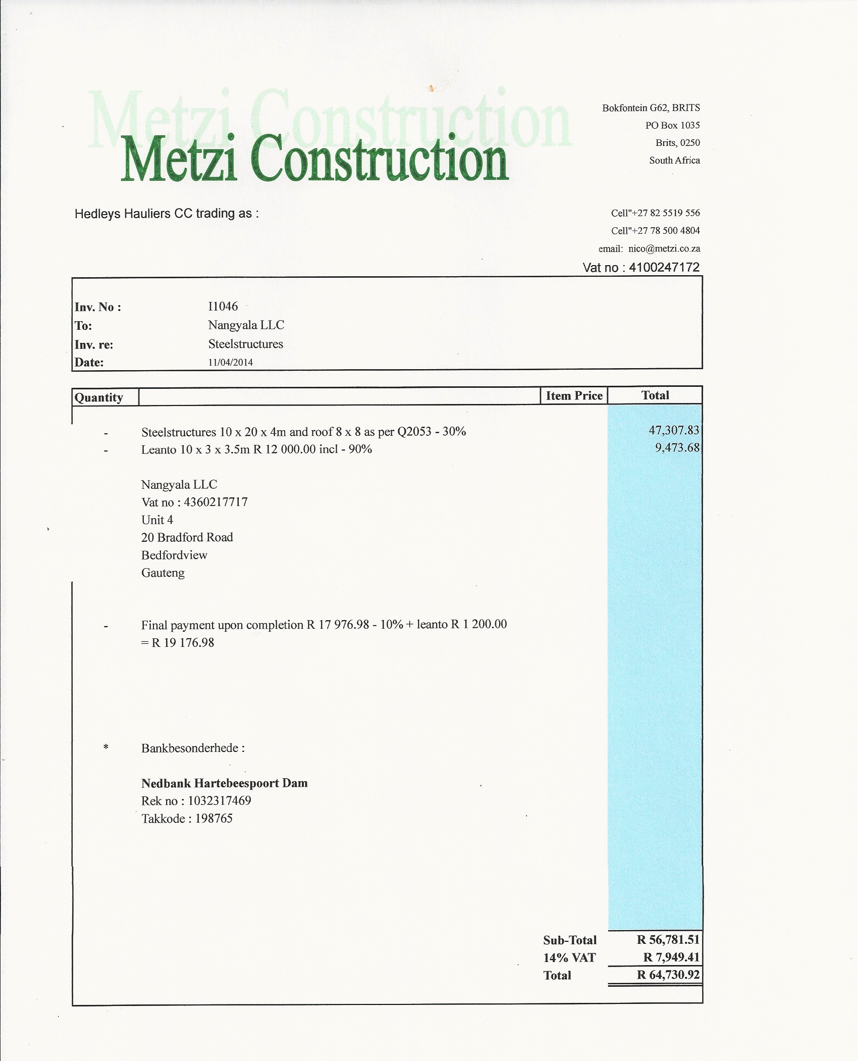Second payment to Metzi Construction_4.jpg
